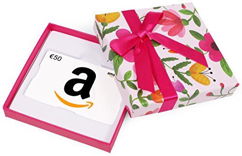 Buono Regalo Amazon.it - €50 (Cofanetto con Fiori)