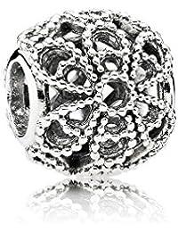 Pandora 791282 - Abalorio de plata de ley con ónice