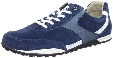 Camel active Sevilla 11 3451102, Herren Sneaker, Blau (jeans/white), EU 45 (UK 10.5) (US 11.5)