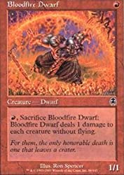 Magic: the Gathering - Bloodfire Dwarf - Apocalypse - Foil by Magic: the Gathering