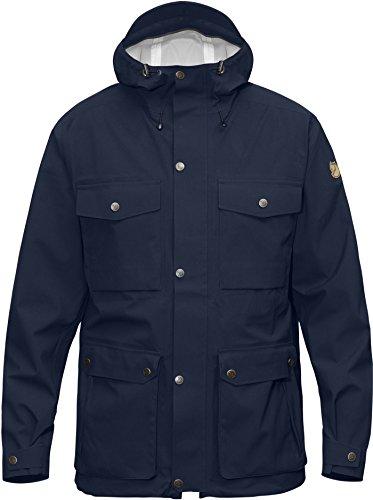 Fjällräven Herren Övik Eco-Shell Jacket Hardshelljacke dark navy blue 555