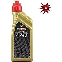 Castrol A747 2T Racing Engine Oil 12x1L = 12 Litre