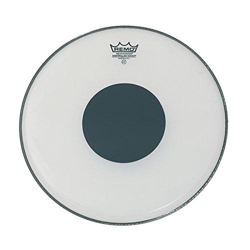 Remo CS-0212-10 12 Zoll gesteuerte Soundtrommelkopf, Black Dot on Top, Smooth White