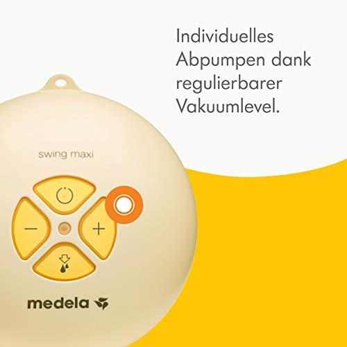 Milchpumpe Medela Swing maxi - elektrische Doppel-Milchpumpe, Schweizer Medizinprodukt - 2