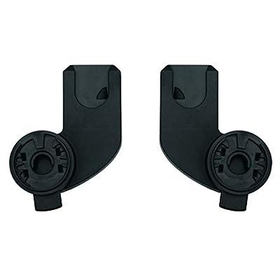 Quinny Zapp X Adapter für Maxi-Cosi Babyschalen, geeignet für Quinny Zapp Flex Plus, Zapp Flex und Zapp Xpress, schwarz