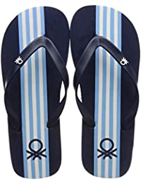 United Colors of Benetton Men's 19a8cffpm453i Flip-Flops