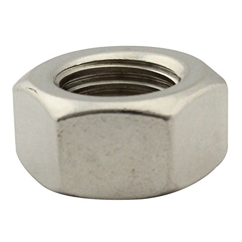 SC-Normteile | 10 Stück Sechskantmuttern (Standard) | M16 | DIN934 | rostfreier Edelstahl A2 (V2A) | SC934 -