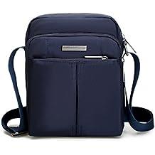 Outreo Bolso Bandolera Deporte Bolso Hombre Bolsos de Escolares Bolsas de Viaje Bolsa Ocio Vintage Messenger Bag para Casual