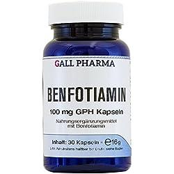 Gall Pharma Benfotiamin 100 mg GPH Kapseln, 60 Kapseln