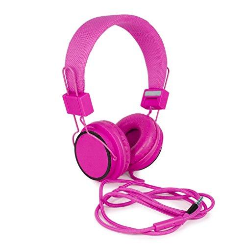 hi-fun-fluor-cuffie-stereo-cavo-in-tessuto-microfono-e-tasto-multifunzionale-rosa