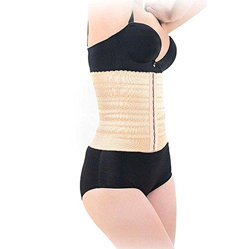Tonwalk Latex en caoutchouc de taille Body Corset Body Shaper abdominal Ceinture Kaki