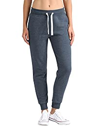 DESIRES Olivia Damen Sweathose Sweatpants Relaxhose Mit Fleece-Innenseite Und Kordel Regular Fit
