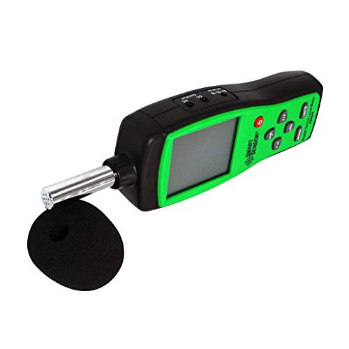SM SunniMix Mini-Haushalts-Digital-Dezibel-Ton-Geräuschpegel-Meter-Leser-Test 30-130dB