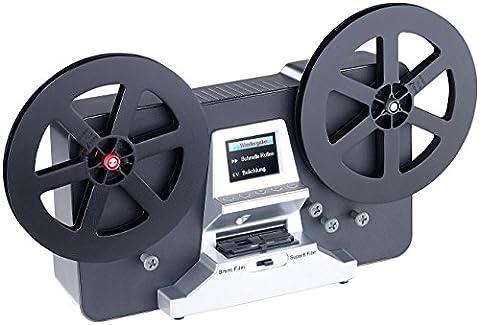 Somikon Filmscanner: HD-XL-Film-Scanner & -Digitalisierer für Super 8 und 8