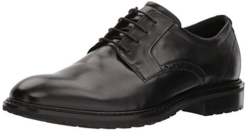 ECCO Herren VITRUSI Derbys, Schwarz (Black 1001), 44 EU Ecco Business Comfort