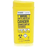 Sharpsafe Conteneur à déchets piquants, coupants et perforants 0,2 l