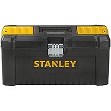 """Stanley STST1-75518 - Caja de herramientas de plastico 16""""/40cm con cierre de metal"""