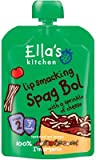 Ella's Kitchen - Stage 2 Baby Food - Spaghetti Bolognese - 130g (Case of 6)...