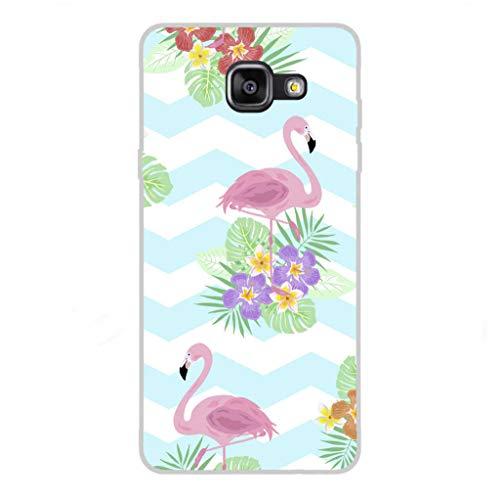 Todo Phone Store Custodia Cover [Disegno] Silicone TPU Gel [Animali 001] per [Samsung A5 (2016) A510F]