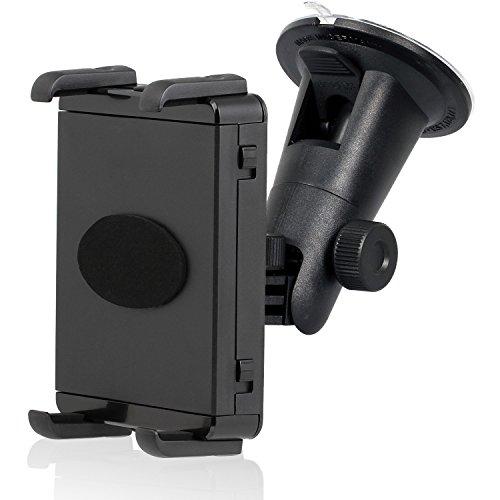 Wicked Chili KFZ Scheiben Halterung für Tablet und Smartphone (360 Grad, geeignet bis 10,5 cm Höhe/20,5 cm Breite, für Bumper & Case, Made in Germany)