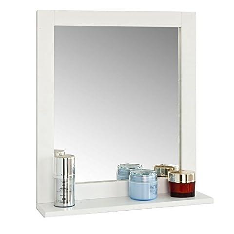 SoBuy® FRG129-W Miroir Mural Meuble Salle de Bain avec 1