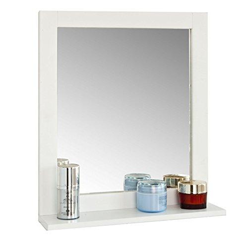SoBuy® FRG129-W Spiegel Wandspiegel Badspiegel mit Ablage