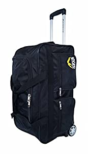Outdoor Gear Ballistic Nylon 24 inch Large Wheeled Holdall Bag - Black