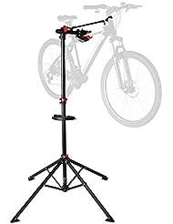 Ultrasport Support de montage pour vélos Expert, support robuste pour vélos, convient également pour les VTT – Stand de réparation pour les vélos ne dépassant pas 30 kg, avec des fonctions utiles pour la réparation des vélos