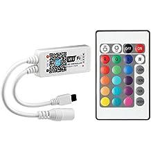 Desconocido Generic arilux al-lc04 Super Mini LED contrã leur WiFi App + tãlãcommande