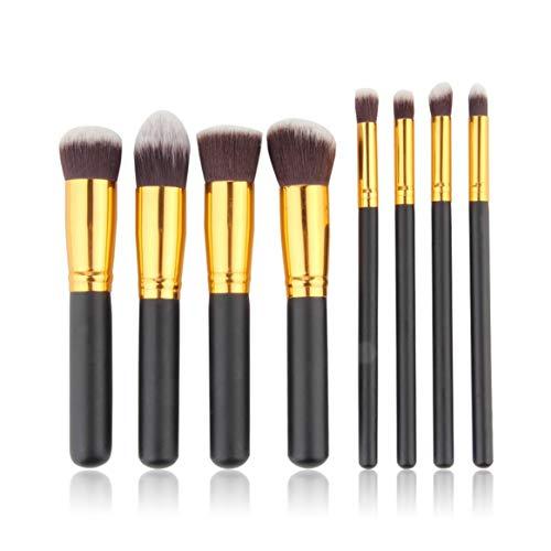 8pcs professionnel pinceaux pour les yeux mis fard à paupières Fondation Mascara mélange crayon pinceau outil de maquillage pince cosmétique pour maquiagem