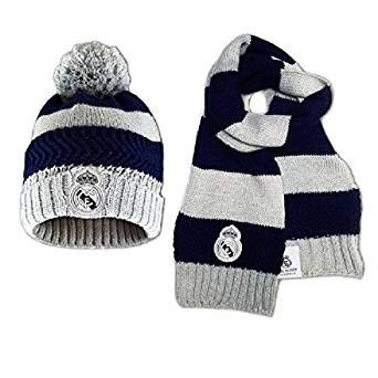Set conjunto Real Madrid bufanda gorro junior [AB4880]