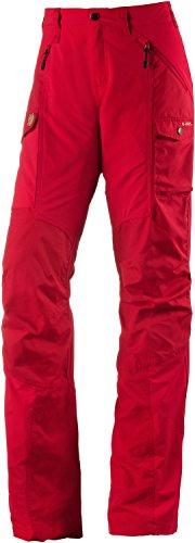 Fjällräven Damen Nikka Curved Trousers Lange Hose, Red, 38