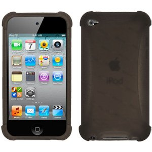 Amzer AMZ89268 Silicone Skin Jelly Case for iPod Touch 4th Gen (Grey)  available at amazon for Rs.279