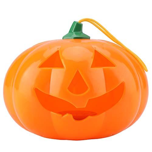 (Garosa Halloween Kürbis Licht mit Scary Sound Dekoration Indoor Outdoor Trick or Treat Party Zubehör(#1))