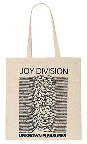 Joy Division Unknown Pleasures Album Art T-Shirt Tote Bag -