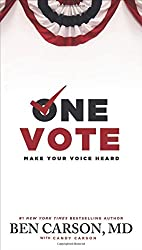 One Vote: Make Your Voice Heard by Candy Carson (9-Oct-2014) Paperback
