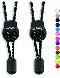 PACE Locks – Elastische Schnürsenkel mit Schnellverschluss – Schnellschnürsystem für einzigartigen Komfort, perfekten Sitz und starken Halt – 100% Zufriedenheitsversprechen - ALPHAPACE ®