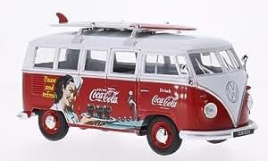 VW T1 bus, Coca Cola , voiture miniature, Miniature déjà montée, Oxford 1:24