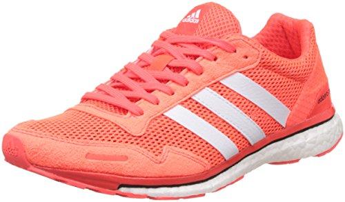 adidas Damen Adizero Adios 3 Laufschuhe, Rot (Solar Red/Ftwr White/Core Black), 38 EU