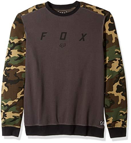 Fox Bluse, Camo, Größe M Fleece-screen Print Pullover