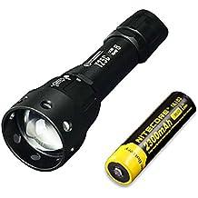 Combo: Sunwayman T25C CREE XM-L2 U3 LED Zooming Flashlight w/ NL183 Battery