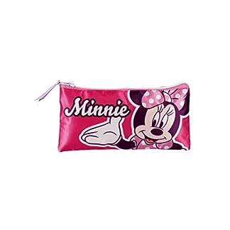Minnie Mouse- Estuche portatodo Plano Doble (Artesanía Cerdá 2100001248)