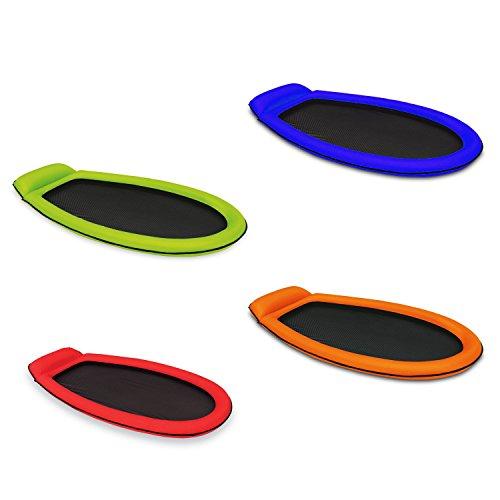 Farbe nach Wahl Grün oder Orange - Intex Mesh Lounge 178 x 94 cm