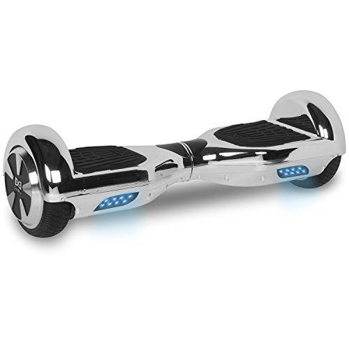 "Cool&Fun Hoverboard Elektro Scooter E-Balance E-Skateboard 6,5"" von Shop Gyrogeek (Silber)"
