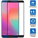 Honor View 10 Tempered Glass, Premium Real [Black-5.99] 2.5D 9H Hardness HD Tempered Glass Screen Protector Guard For Honor View 10