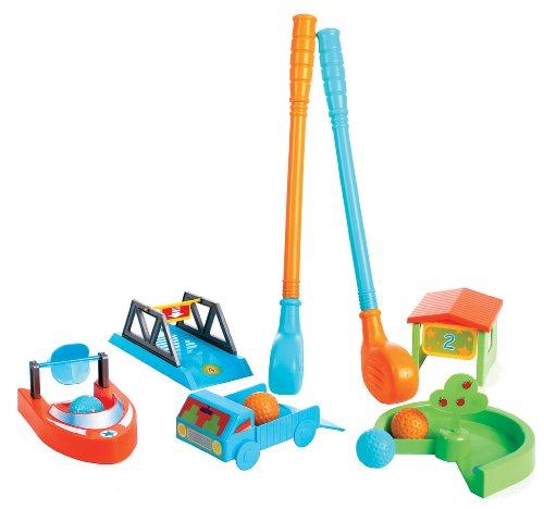 Minigolf Golf Set für Kinder Golfschläger für Kinder in and out