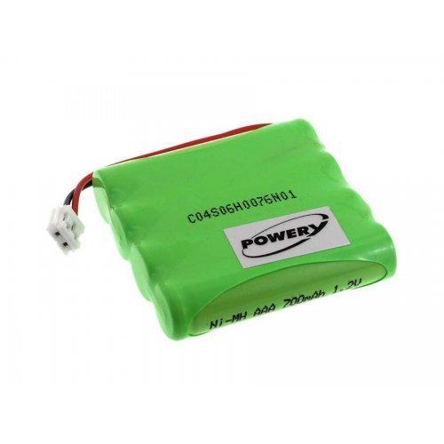 Batterie pour Babyphone Philips Avent SCD 468/84-R, 4,8V, NiMH