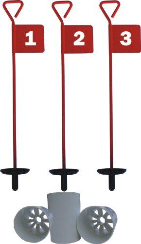 Golf- Übungsset, 3Fahnen und PuttingCups