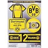 Borussia Dortmund Aufkleberkarte