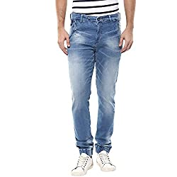 Spykar Mens Relaxed Fit Jeans (MACT-01AG-038_Lt.Blue_32W x 30L)